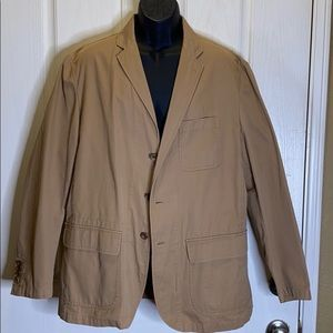 Polo Unconstructed Chino Suit Jacket XL